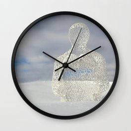 Nomad, Des Moines, Iowa Wall Clock