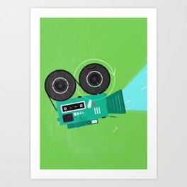 Video Art Print