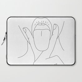 Tongue And Cheek Laptop Sleeve