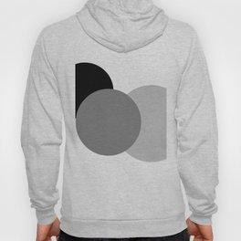 Gray White Black : Mod Circles Hoody