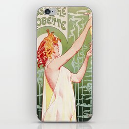 Art Nouveau Absinthe Robette Ad iPhone Skin