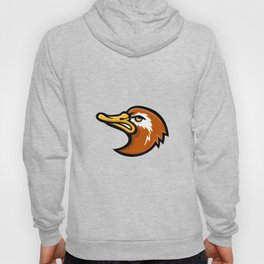 Laysan Duck Head Mascot Hoody
