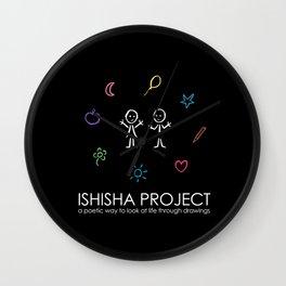 ISHISHA PROJECT by ISHISHA PROJECT Wall Clock