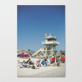 Beach Living Canvas Print