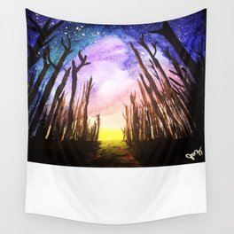 Twilight Woods Wall Tapestry
