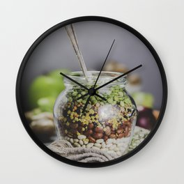 legumes Wall Clock