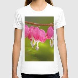 Glowing Bleeding Hearts T-shirt