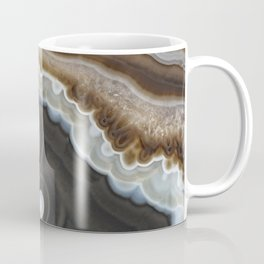 Mocha agate geode 3287 Coffee Mug