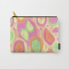 Fresh Citrus Watercolor Fruits Carry-All Pouch