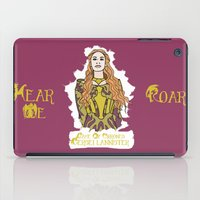 lannister iPad Cases featuring Cersei by JessicaJaneIllustration