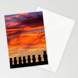 EASTER ISLAND SUNRISE Stationery Cards