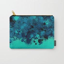 paint splatter on gradient pattern bt Carry-All Pouch