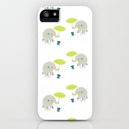 Rain Pattern iPhone Case
