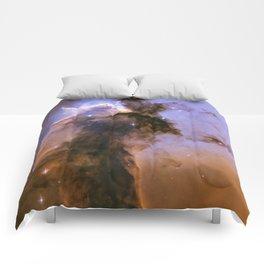 Eagle Nebula Spire Comforters