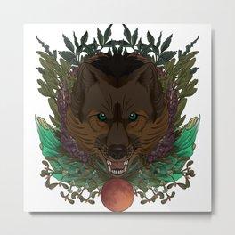Icarus Token Metal Print