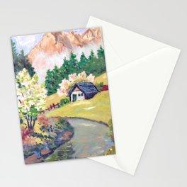 Spring Alpine Stationery Cards