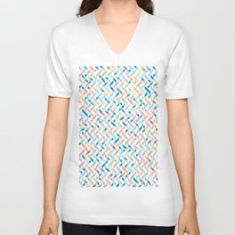 Peaches by the Sea Unisex V-Neck