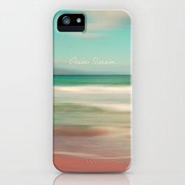 Ocean Dream IV iPhone Case