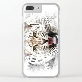 Jaguar MISSING Clear iPhone Case