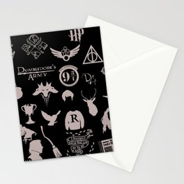 potter's head Stationery Cards