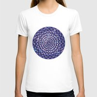 moon phases T-shirts featuring Moon Phases by Cina Catteau