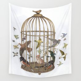 Birdcage Wall Tapestry