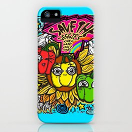 Save the Veggies! - Bellpeppers iPhone Case