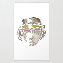 Cool Guy Art Print