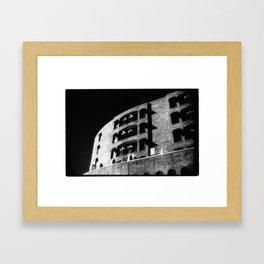 Folding Building Framed Art Print