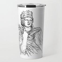 Tyche Greek Goddess Travel Mug