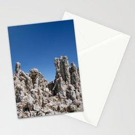 mono lake on blue Stationery Cards