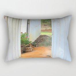 Old Florida Breezeway Rectangular Pillow