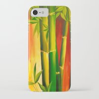 bamboo iPhone & iPod Cases featuring Bamboo by OLHADARCHUK