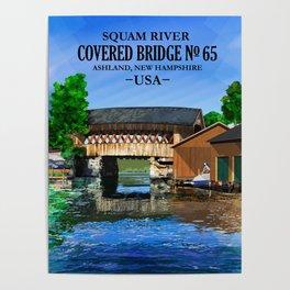 Covered Bridge #65 Poster