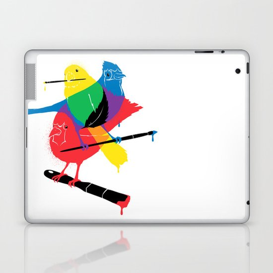 Colors of a Feather Laptop & iPad Skin