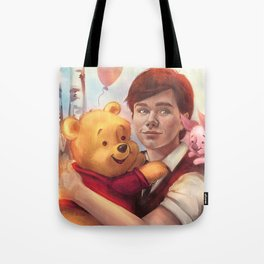 The boy and his friend  Tote Bag