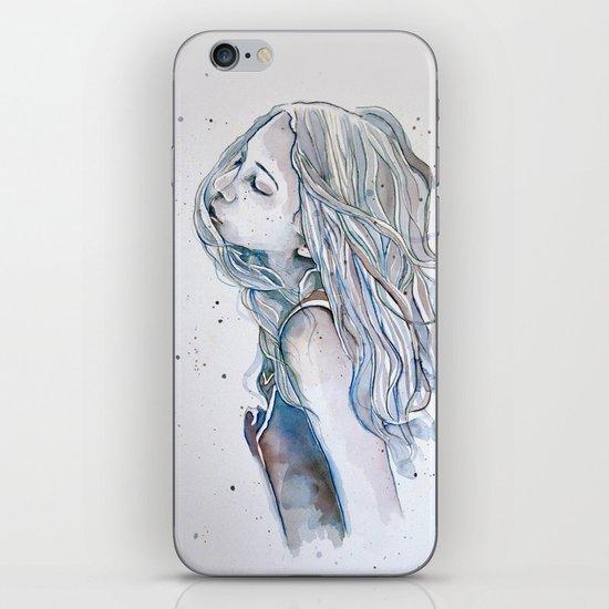 Breeze (variant II), watercolor painting iPhone & iPod Skin