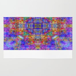 Spectral Threads Rug