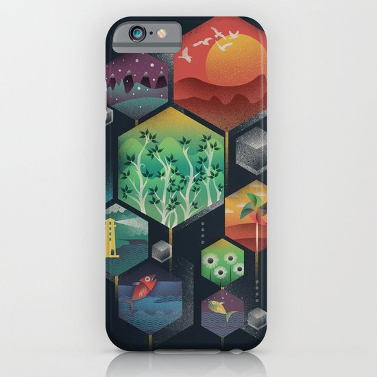 Geometrical Wonders iPhone & iPod Case