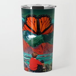 Butterfly mountain Travel Mug