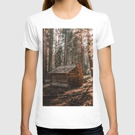 Log Cabin in the Forest T-shirt