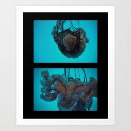 Dancing Forms No. 4 Art Print