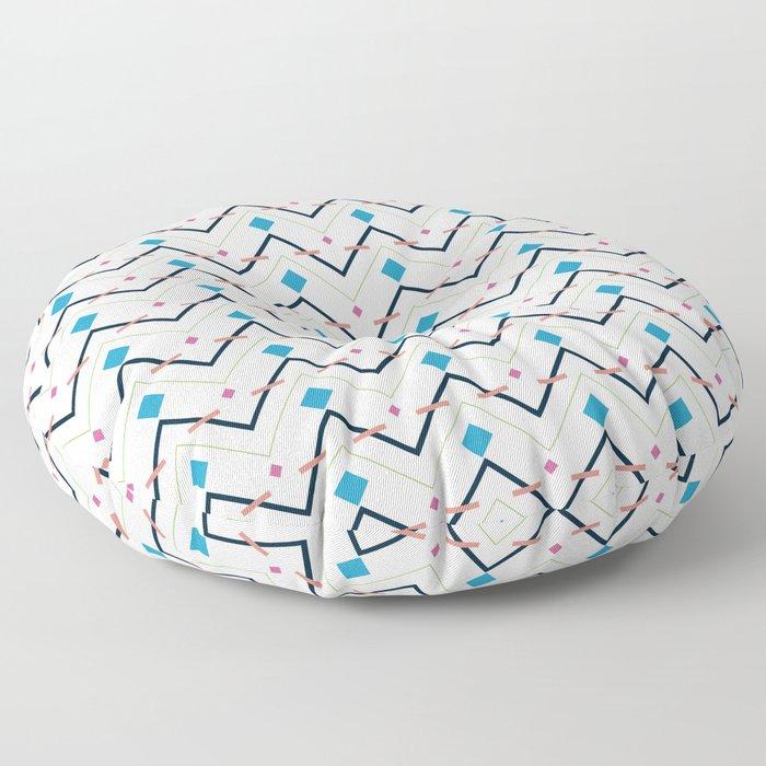 Zig Zag pattern design Floor Pillow