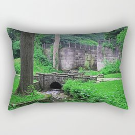 The Echoes of Our Souls Rectangular Pillow