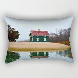 Gamecock Cottage Rectangular Pillow