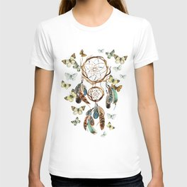 Butterfly Dream Catcher T-shirt