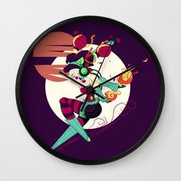 TokyoGoGo - Robo Lantern  Wall Clock