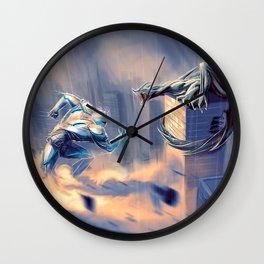 Pacific Rim - Concept Art Wall Clock