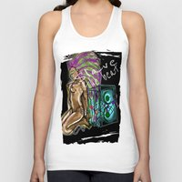 hip hop Tank Tops featuring Hip Hop Music beat by Just Bailey Designs