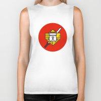 gryffindor Biker Tanks featuring Gryffindor House Crest Icon by Manuja Waldia